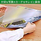 アイリスオーヤマ ラミネートフィルム 100μm 名刺 サイズ 100枚入 LZ-NC100 画像