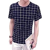 (メイク トゥ ビー) Make 2 Be 半袖 Tシャツ グラフ チェック 柄 MF22