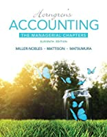Horngren's Accounting: The Managerial Chapters (11th Edition)