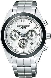[インディペンデント]INDEPENDENT 腕時計 ニュースタンダード クロノグラフモデル BA4-019-11 メンズ