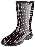 [Sloggers] スローガーズ レインブーツ 長靴 ガーデニング 農作業 園芸 アウトドア フェス Made in USA 釣り 防水作業靴 ブーツ マルチカラー 水玉 XL 25.5cm サイズ9