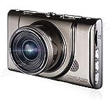 (X18)XTRONS ドライブレコーダー カメラ式 1300w超高画質 1080P FullHD 170 °広角 3インチスクリーン HDR ループ録画 Gセンサー 光学6G多層ガラスレンズ