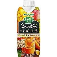 カゴメ 野菜生活100 Smoothie マンゴーピーチスムージーミックス 330ml×12本