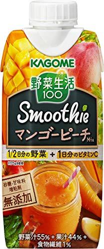 野菜生活 100 スムージー マンゴーピーチスムージーミックス(330mL*12本入)