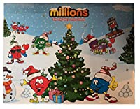 Millions Sweets Childrens Kids Christmas Xmas Advent Calendar 2017