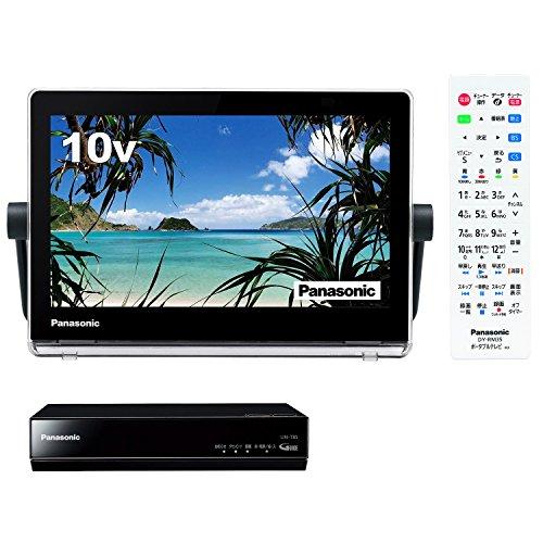 パナソニック 10V型 ポータブル 液晶テレビ プライベート・ビエラ 防水タイプ 500GB HDDレコーダー付 ブラック UN-10T8-K + 防水リモコン セット
