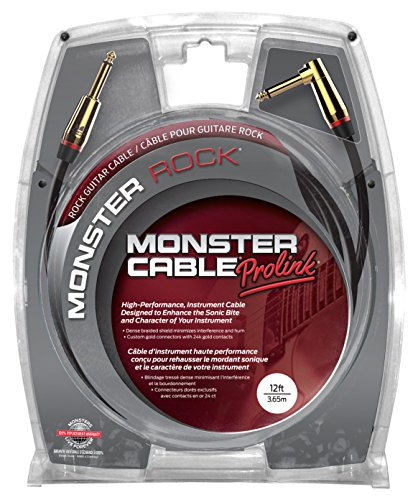 Monster Cable M ROCK2-12A Monster Rock2 Series ギター用ケーブル/ プラグ S-L /ケーブル長:約3.6m