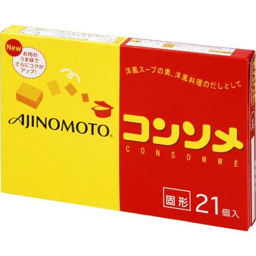 <味の素> kkコンソメ 固形21個入箱【111.3g】 ×100箱