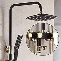トトロシャワーセットの全銅増圧リフト,黒