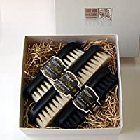 [銀座大賀 靴工房] Boot Black(ブートブラック)×江戸屋ブラシセット ボックス(紙箱) セット1