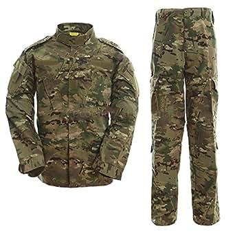 戦闘服 BDU 迷彩服上下セット マルチカム XXS ウェストサイズ:65-69cm
