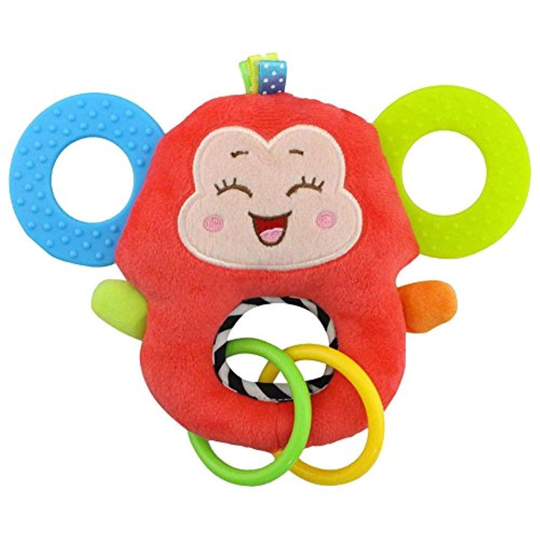 ぬいぐるみ キリン フクロウ 魚 サル ベビーの玩具 0~6歳のおもちゃ 可愛い 赤ちゃんが大好き 噛み噛み
