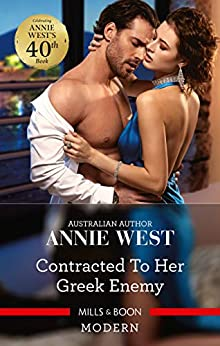 Contracted to Her Greek Enemy by [West, Annie]