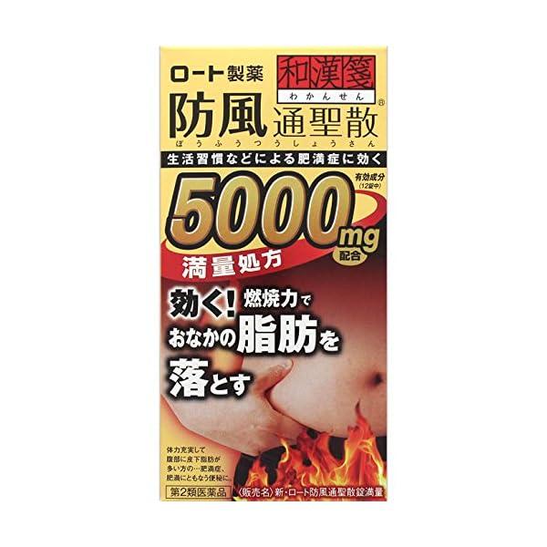 【第2類医薬品】新・ロート防風通聖散錠満量 264錠の商品画像