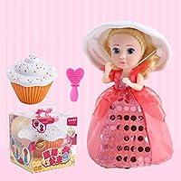 coerniカップケーキ人形おもちゃfor Girls , Surprise人形ギフトforキッズ用ガールズ