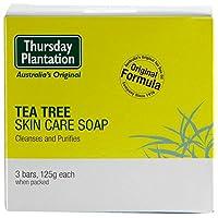 Thursday Plantation Tea Tree Soap 3x125g