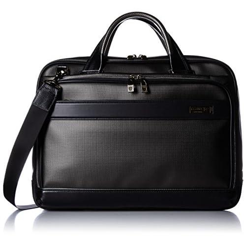 [バーマス] BERMAS MIJ ビジネスバッグ ブリーフ42cm 60036-10 BK (ブラック)