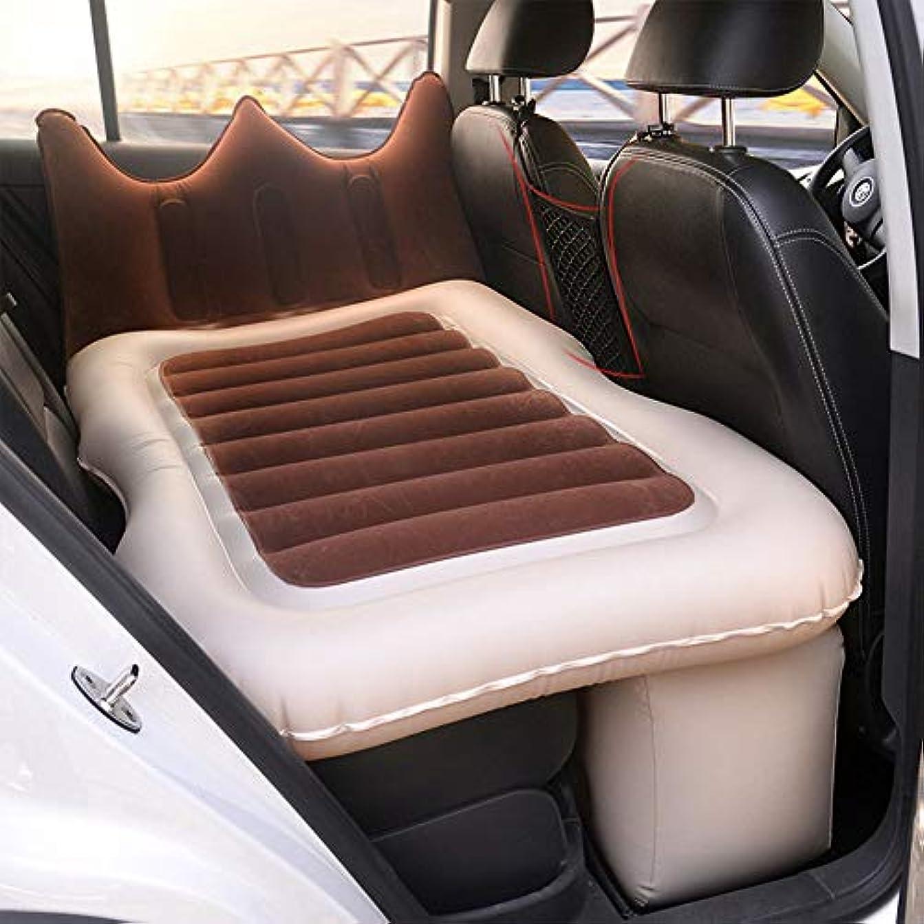 葉を拾うエンコミウム樹皮LINGYAO 車のインフレータブルベッドソフトで快適な環境に優しい通気性多機能折りたたみインフレータブルクッション