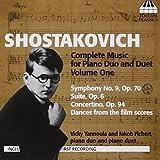 ショスタコーヴィチ:2台&4手のためのピアノ作品全集 第1集