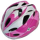 SAGISAKA(サギサカ) 自転車 ヘルメット ジュニアヘルメット スタンダードモデル Mサイズ ピンク 88735