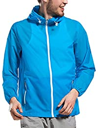 Zhhlinyuan Mens Anti-UV Activewear Quick-dry Windproof Sport Camping Jacket Outdoor Coat 3779#