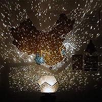 LEDナイトライト スタープロジェクター 投影ランプ 3色変更 リモコン USB給電 回転可能 美しい星空 簡易プラネタリウム ロマンチック雰囲気作り 星空ライト スポットライト 飾りライト 夜間ライト 卓上スタンド ハロウィン/クリスマス/結婚式/学園祭/ガーデンパーティー/屋内装飾