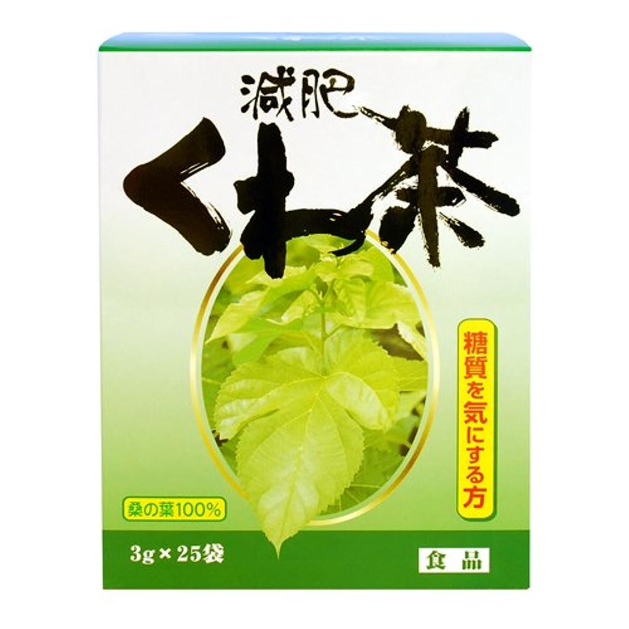 望む急勾配のデコラティブリケン 減肥くわ茶 3g×25包