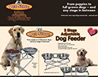 3-step Adjustable Pet Feeder by Pet Store