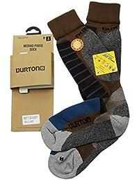 【アウトレット】 バートン BURTON S クリックポストで 靴下 SOCKS ソックス 2足組 ブラウンマルチ [並行輸入品]