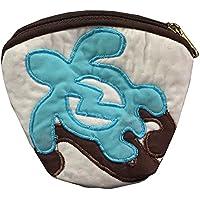 ハワイアンキルト Hawaiian Quilt ホヌ柄コインケース/財布 小銭入れ 小物入れ