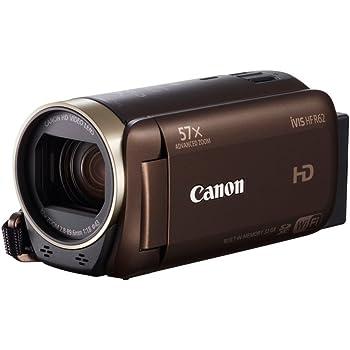 Canon デジタルビデオカメラ iVIS HF R62 光学32倍ズーム ブラウン IVISHFR62BR