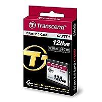 Transcend CFX650 128GB CFast 2.0 Flash Memory Card-TS128GCFX650 [並行輸入品]