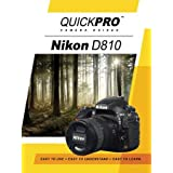 Nikon D810 Instructional DVD by QuickPro Camera Guides