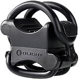 OLIGHT FB-1 ライトホルダー ブラケット バイクライトホルダー ライトマウント 自転車 取付用 直径1cm-3.5cmライト対応