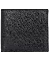 [コーチ] COACH 財布(二つ折り財布) F74981 ブラック クロスグレーン レザー コイン ウォレット メンズ [アウトレット品] [ブランド] [並行輸入品]
