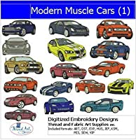 Machine Embroidery Designs - Modern Muscle Cars(1) [並行輸入品]
