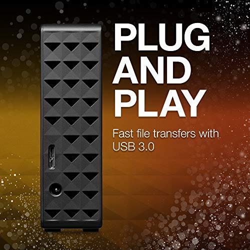"『Seagate 外付 3TB 静音 HDD PS4 動作確認済 縦・横置可 省エネ3年保証 USB3.0 ハードディスク 3.5"" 有料データ復旧サポート 日本語サポートコールSTEB3000100』の3枚目の画像"