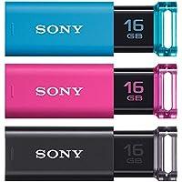 ソニー SONY USBメモリ USB3.0 16GB 3本セット キャップレス USM16GU 3C [国内正規品]