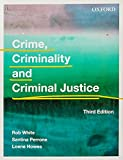 Cover of Crime, Criminality and Criminal Justice