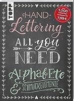 Handlettering All you need: Die schoensten Alphabete und Schmuckelemente
