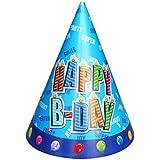 子供の10個のためのクリエイティブ子供の誕生日ハットパーティーハット