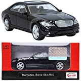 RASTAR Mercedes-Benz S63 AMG Black 1:43 ダイキャストカーミニ車のおもちゃ [並行輸入品]