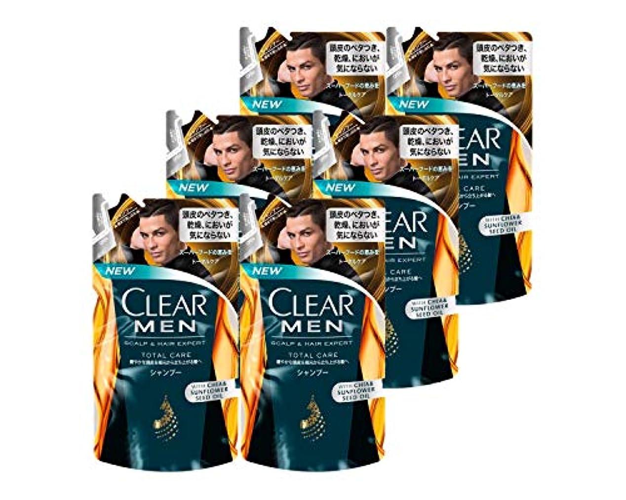穿孔する報復するバッククリア フォーメン トータルケア 男性用シャンプー つめかえ用 (健やかな頭皮へ) 280g × 6個