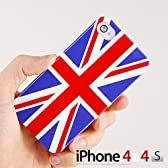 iphone4/4S用ケース ユニオンジャック オリジナルカラー イギリス イングランド  保護 カバー