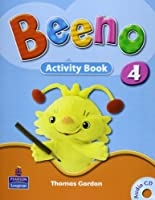 Beeno Level 4 Activity Book with CD