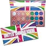 (3 Pack) RUDE United Shimmerdom - 21 Shimmer Eyeshadow Palette (並行輸入品)