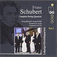 String Quartets 3 by SCHUBERT (1996-05-21)