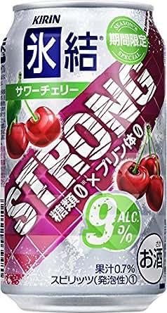 キリン 氷結ストロング サワーチェリー缶 350ml×24本