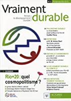 Rio+20 : quel cosmopolitisme ?