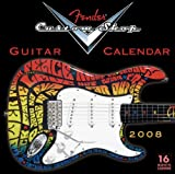 Fender Custom Shop Guitar 2008 Calendar